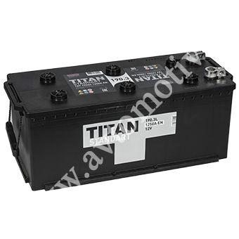 Аккумулятор для грузовиков TITAN Standart 190.3 евро фото 340x340