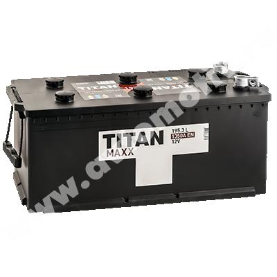 Аккумулятор для грузовиков Titan MAXX 195.3 евро фото 400x400