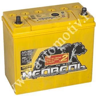 Автомобильный аккумулятор Тюменский Медведь VLA  65B24L (55) фото 340x340