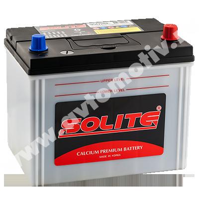 Автомобильный аккумулятор Solite 95D26L B/H (85) прилив фото 400x400