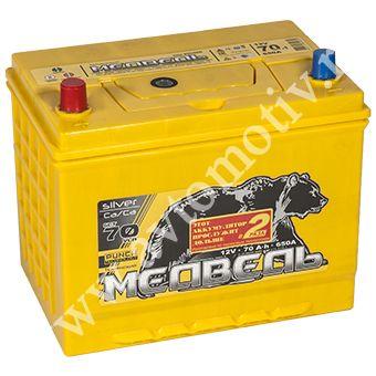Автомобильный аккумулятор Тюменский Медведь VLA  85D26L (70) фото 340x340
