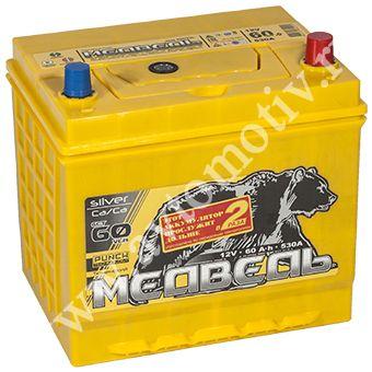 Автомобильный аккумулятор Тюменский Медведь VLA  65D23L (60) фото 340x340
