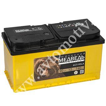Автомобильный аккумулятор Тюменский Медведь L5 90.1 фото 340x340