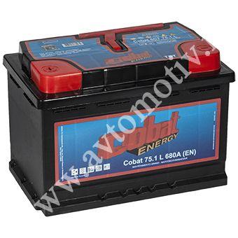 Автомобильный аккумулятор Cobat Energy 75.1 фото 340x340