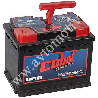 Автомобильный аккумулятор Cobat Energy 55.1 фото 340x340
