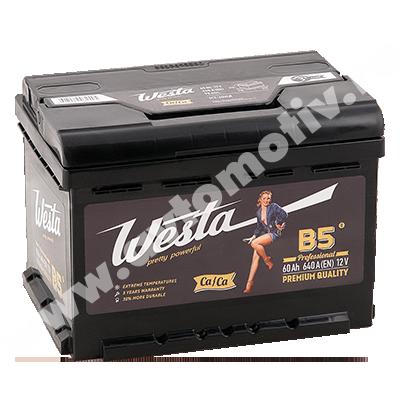 Автомобильный аккумулятор WESTA Pretty Powerful 60.0 фото 400x400