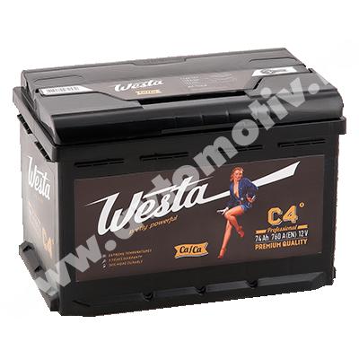 Автомобильный аккумулятор WESTA Pretty Powerful 74.0 фото 400x400