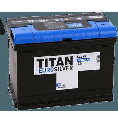 Автомобильный аккумулятор Titan EUROSILVER 61.1 фото 378x377