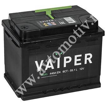 Автомобильный аккумулятор VAIPER 55.0 фото 340x340