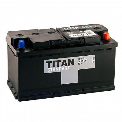 Автомобильный аккумулятор TITAN Standart 90.0 фото 401x401