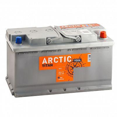 Автомобильный аккумулятор Titan ARCTIC 100.0 фото 401x401