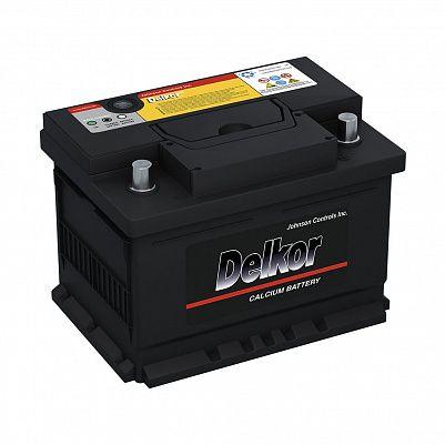 Автомобильный аккумулятор DELKOR Euro 61.0 LB2 (56177) фото 401x401