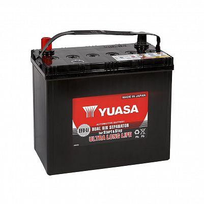 Автомобильный аккумулятор YUASA EFB 75B24L 50Ah фото 401x401