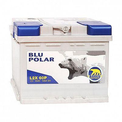 Автомобильный аккумулятор Baren Polar Blu 60.1 L2 фото 401x401