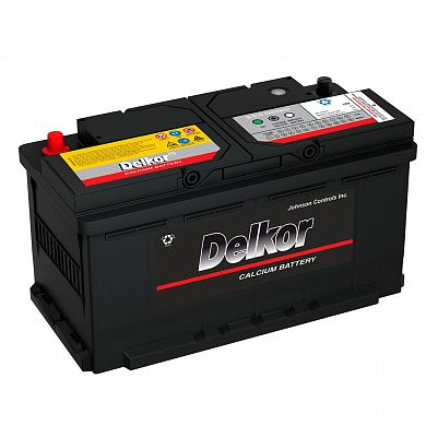 Автомобильный аккумулятор DELKOR Euro 100.0 L5 (60044) фото 401x401