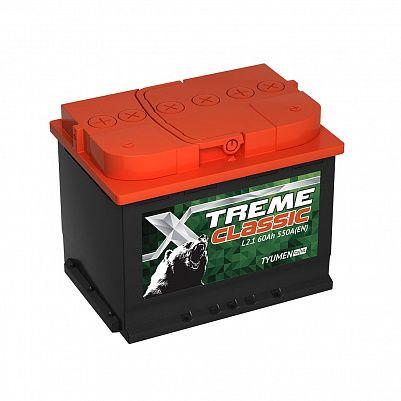 Автомобильный аккумулятор X-treme CLASSIC (Тюмень) 60.1 фото 401x401