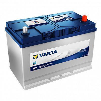Автомобильный аккумулятор Varta G7 Blue Dynamic 12V 95Ah 830A (595 404 083) D31L фото 401x401