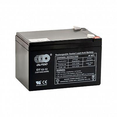 Аккумулятор OUTDO VRLA 12v  12Ah  (OT12-12) фото 401x401