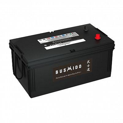 Аккумулятор для грузовиков BUSHIDO 225.3 (225H52R) евро фото 401x401