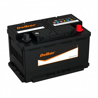 Автомобильный аккумулятор DELKOR Euro 80.0 LB4 (58039) фото 401x401