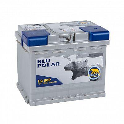 Автомобильный аккумулятор Baren Polar Blu 60.0 LB2 фото 401x401