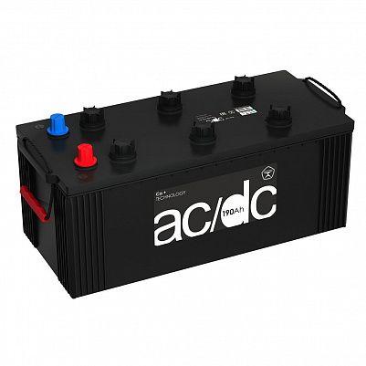 Аккумулятор для грузовиков AC/DC (Рязань) 190.4  узкий , клемма под конус фото 401x401