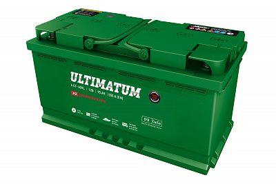 Автомобильный аккумулятор Ultimatum EFB 95.1 фото 400x267