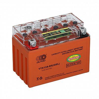 Мото аккумулятор 9,5Ah OUTDO UTX12A(YTX12A)-BS iGEL фото 401x401