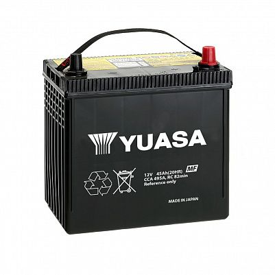 YUASA MF Black Edition 60B24L (45) фото 401x401