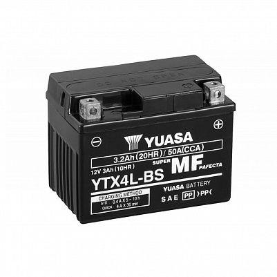 Мото YUASA MF YTX4L-BS (CP) фото 401x401