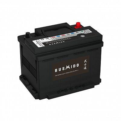 Автомобильный аккумулятор BUSHIDO 60.1 L2 (56031) фото 401x401