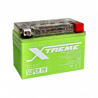 Мото аккумулятор Xtreme UTX4,5L(YTX4L)-BS iGEL (4,5Ah) фото 401x401