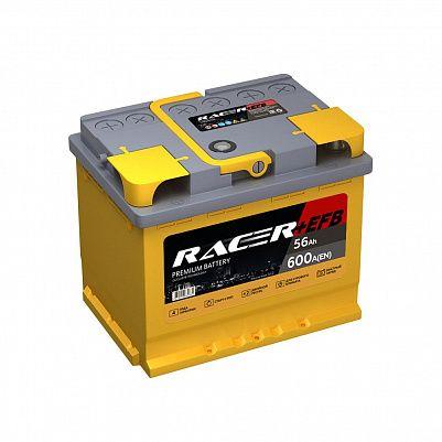 Автомобильный аккумулятор RACER+EFB 56.1 фото 401x401