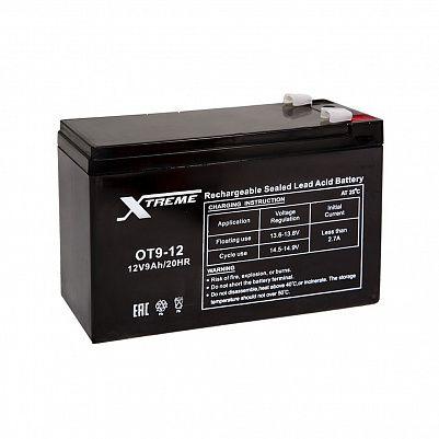 Аккумулятор Xtreme VRLA 12v  9Ah (OT9-12) фото 401x401