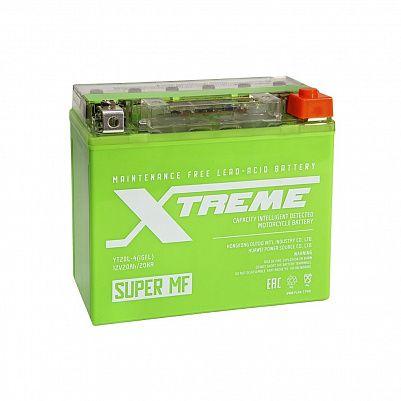 Мото аккумулятор Xtreme YT20L-4 iGEL (20Ah) фото 401x401