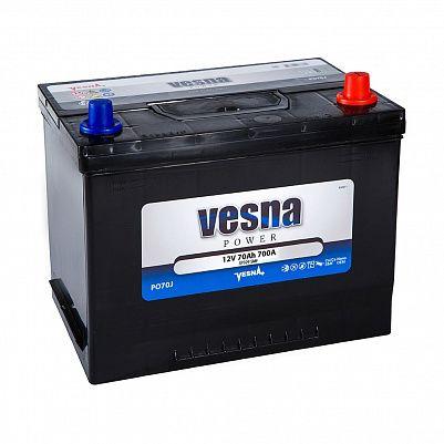 Автомобильный аккумулятор VESNA Power 70 (D26L) фото 401x401