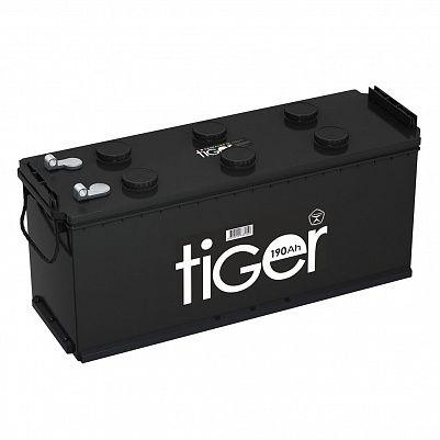 Аккумулятор для грузовиков Tiger (Рязань) 190.4 узкий под фото 401x401