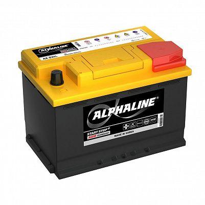 Автомобильный аккумулятор AlphaLINE AGM 70.0 L3 (AX 57020) 70 Ah фото 401x401