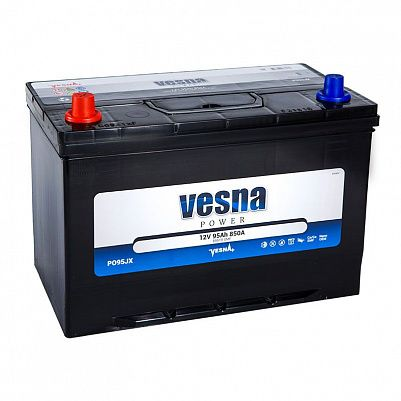 Автомобильный аккумулятор VESNA Power 95 (D31R) фото 401x401