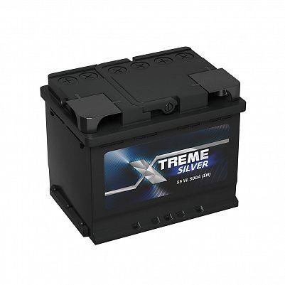Автомобильный аккумулятор X-treme Silver (АКОМ) 55.1 фото 401x401