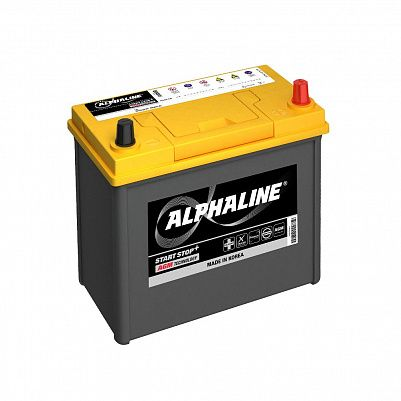 Автомобильный аккумулятор AlphaLINE AGM AX B24L 45Ач фото 401x401