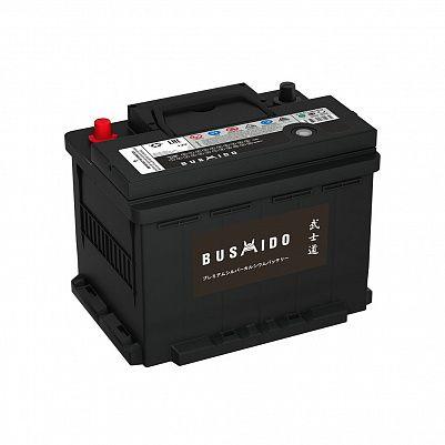 Автомобильный аккумулятор BUSHIDO 60.0 L2 (56030) фото 401x401