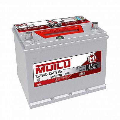 Автомобильный аккумулятор Mutlu 68 (70D23FR) фото 401x401