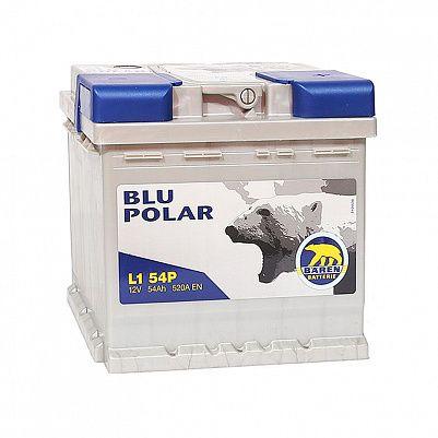 Автомобильный аккумулятор Baren Polar Blu 54.0 L1 фото 401x401