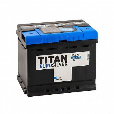 Автомобильный аккумулятор Titan EUROSILVER 56.0 фото 401x401