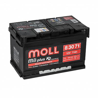 Автомобильный аккумулятор MOLL M3 plus 71.0 фото 401x401