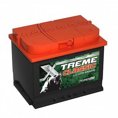 Автомобильный аккумулятор X-treme CLASSIC (Тюмень) 62.1 фото 401x401