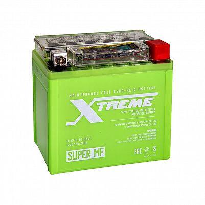 Мото аккумулятор Xtreme UTX5,5L(YTX5L)-BS iGEL (5,5Ah) фото 401x401