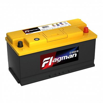 Автомобильный аккумулятор Flagman 110.0 L6 (61000) фото 401x401