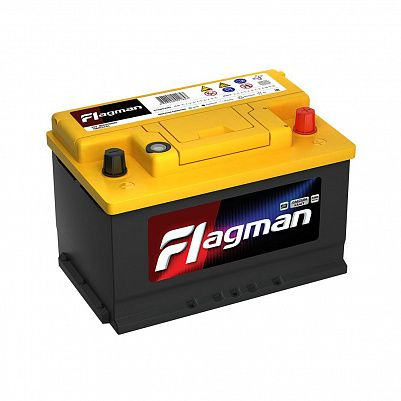 Автомобильный аккумулятор Flagman 74.0 LB3 (57400) фото 401x401